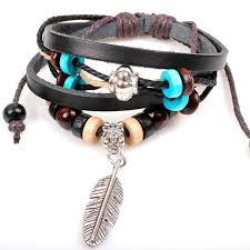 wrist bracelet men images Susenstone new style jewelry men bead wrist bracelet vintage jpg