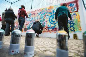 How To Graffiti With Spray Paint - awesome elderly street artists destroy age stereotypes in portugal