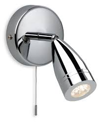 firstlight 8381ch modern polished chrome bathroom spot light
