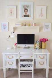 Crate And Barrel Computer Desk by Best 25 White Desks Ideas On Pinterest Chic Desk Home Office