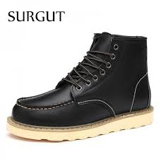motorcycle footwear mens buy waterproof mens ankle boots winter keep warm boots fashion snow