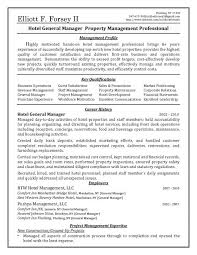 Property Manager Resume Samples by Sample Resumes