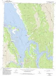 Lake Berryessa Lake Berryessa Topographic Map Ca Usgs Topo Quad 38122e2