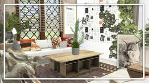 sims 4 speed build let u0027s decorate small living room youtube