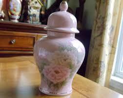 Toyo Vase Pink Floral Vase Etsy