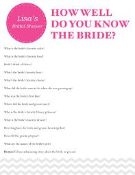 bridal shower question bridal shower questions wedding ideas