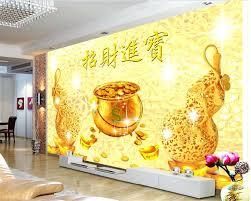 beibehang 3d wallpaper oil painting handmade banana leaf tv