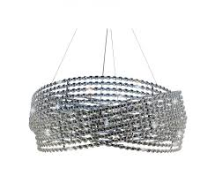 Crystal And Chrome Chandelier Diamante 3 Ring Chrome Crystal Chandelier U2013 Light Up My Home