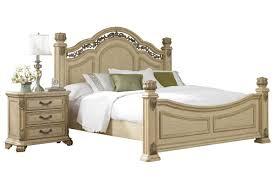 Bedroom Sets Gardner White Rometta Queen Poster Bed