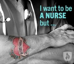 i want to be a nurse but