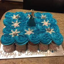 frozen elsa pull apart cupcake cake cake couture by nicole