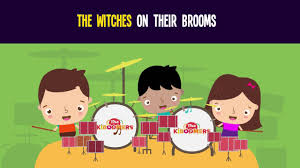 witches on brooms song for kids fun halloween songs for children
