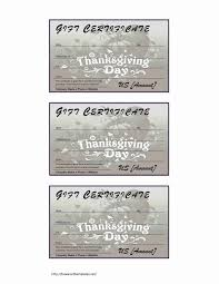free thanksgiving letterhead thanksgiving gift certificate freewordtemplates net