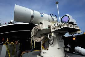 report to congress on navy laser railgun programs