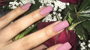 diy acrylic nails hack easy at home tutorial youtube