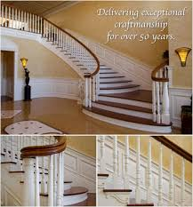 Banister For Stairs Custom Stairs Custom Stair Builder Stair Rails Millwork Long