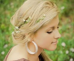 flower for hair tiny flower for hair accent easy and ideas womenitems