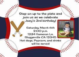baseball birthday invitations birthday invitations