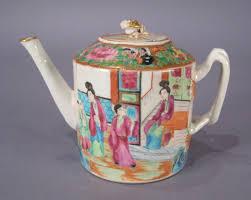 mandarin porcelain export porcelain mandarin teapot dubey s antiques