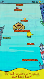 doodle jump ios nickelodeon releases a new doodle jump spongebob squarepants