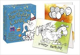 color your own birthday cards david antram 9781910184103 amazon