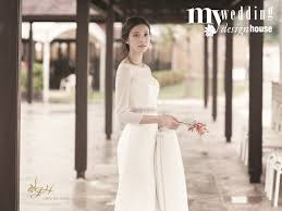 wedding dress brand trend news korean designer wedding dress collection