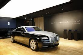 luxury rolls royce after the u201catelier u201d rolls royce opens its first permanent luxury