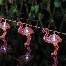 Patio Hanging Lights by 20set Led Fairy Lights Flamingo Shaped String Lights Luces