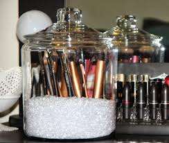 Bathroom Makeup Storage Ideas by Makeup Storage Organize Makeup Brushes Awful Images Concept