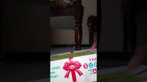 unboxing tape super asli jember non kw joss youtube