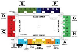 nottingham arena floor plan bournemouth a f c association football club of the barclay u0027s