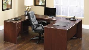 Gothic Home Decor Ideas by Furniture Lovely Wooden Desk By Sauder Furniture With Black Chair