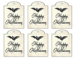 the decorated house free halloween gift tag printable digital