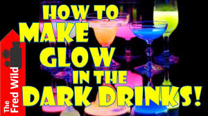 how to make glow in the dark drinks fun kids party youtube
