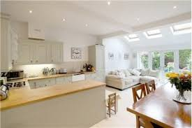 tremendous designs for kitchen diners open plan dining room design