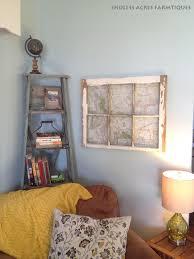 corner ladder shelf diy upcycle u2013 endless acres farmtiques