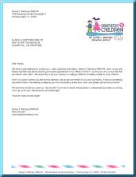 dental recall letter template best photos of letter of appointment