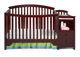 Convertible Cribs With Attached Changing Table by Sonoma Crib N Changer Delta Children U0027s Products