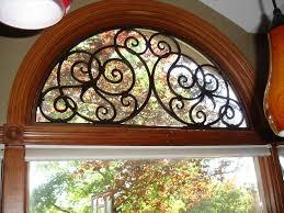 window fan s plantation blinds fan shaped window shade for