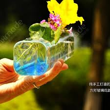 Square Glass Vases Cheap Aliexpress Com Buy New 2017 Fashion Personalized Square Glass