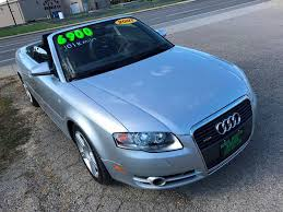 white audi a4 convertible for sale 2007 audi a4 awd 2 0t quattro 2dr convertible 2l i4 6a in