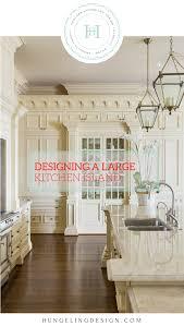 kitchen island designer designing a large kitchen island hungeling design