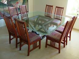 57 best glass dining tables images on pinterest dining tables