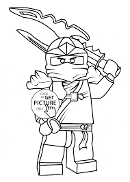 ninjago coloring pages kids printable free lego coloring
