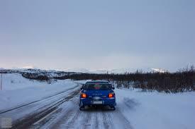 subaru snow subaru impreza wrx sti prodrive kolari to narvik