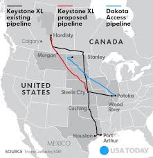 keystone xl pipeline map dakota access keystone xl pipelines a look at what s