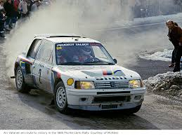 peugeot 205 you can bid on the peugeot 205 t16 group b rally car driven by ari
