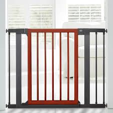 Baby Safety Gates For Stairs Gate Extension Dark Silver