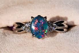 black opal engagement rings expensive engagement ring for black opal engagement rings