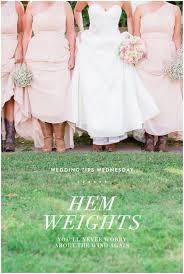 dress weights wedding tips wednesday hem weights